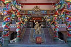 Najasaataichue Chinese tempel royalty-vrije stock afbeelding