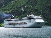najbardziej luksusowy statek pasażerski Zdjęcia Royalty Free