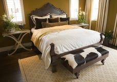 najbardziej nowoczesne sypialni w domu zdjęcia stock