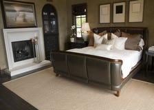 najbardziej nowoczesne sypialni w domu Fotografia Stock
