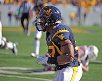 Najee Goode - WVU Football - interception return Stock Photo