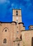 Najera Plaza Mayor The way of Saint James. In La Rioja of Spain Royalty Free Stock Photography