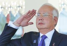 Najib Razak Στοκ Εικόνες