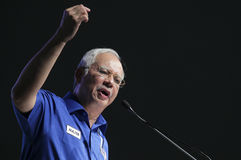 Najib Razak Στοκ εικόνες με δικαίωμα ελεύθερης χρήσης