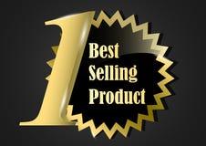 Najlepiej sprzedający się produktu sztandaru złocista nagroda ilustracji
