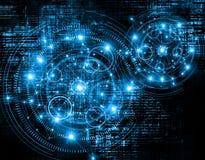 najlepszego biznesowego pojęcia globalni internety technologiczny tło Promieni symbole Fi internet, telewizja ilustracja wektor
