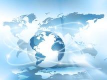 najlepszej biznesowej pojęcia pojęć globalnej kuli ziemskiej rozjarzone ręki internetów serie Obraz Royalty Free