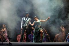 najlepszi carmen tanczą dramata flamenco Obrazy Stock