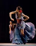 najlepszi carmen tanczą dramata flamenco Zdjęcie Royalty Free