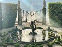 Najlepszy światła słonecznego jeziorny como Italy obraz stock