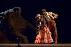 najlepszy carmen tana dramata flamenco Zdjęcia Royalty Free