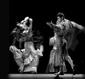 najlepszy carmen tana dramata flamenco Obraz Royalty Free