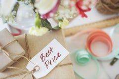 Najlepszy ceny oferty Promocyjnego handlu Marketingowy pojęcie Fotografia Stock