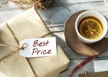 Najlepszy ceny oferty Promocyjnego handlu Marketingowy pojęcie Zdjęcia Royalty Free