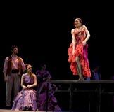 Najlepszy Flamenco Tana Dramat Zdjęcia Stock