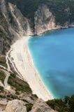 Najlepszy grek plaża, Myrthos Zdjęcia Stock