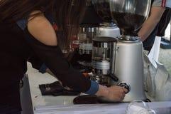 Najlepszy herbata przy Singh parkiem & kawa Robić lodowej kawy warsztatowi obrazy stock