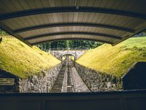 Najlepszy i wysoki panoramicznego widoku punkt w Szwajcaria obraz royalty free