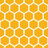 najlepszy komputer wytwarzający honeycomb wzoru repicate bezszwowy ilustracji