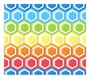 najlepszy komputer wytwarzaj?cy honeycomb wzoru repicate bezszwowy Fotografia Stock