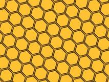 najlepszy komputer wytwarzający honeycomb wzoru repicate bezszwowy royalty ilustracja