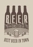 Najlepszy piwo w miasteczku Fotografia Royalty Free