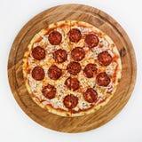 Najlepszy pizza włocha jedzenie obraz stock