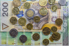 Najlepszy Polska waluta Obraz Royalty Free