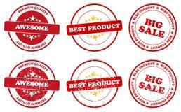 Najlepszy produkt Fotografia Stock