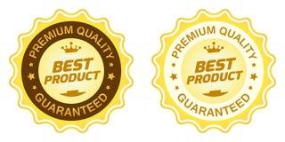 Najlepszy produkt etykietka Zdjęcie Stock