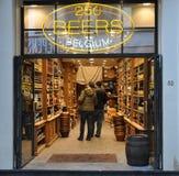 Najlepszy sklep w Bruxelles zdjęcie stock