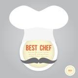 Najlepszy szef kuchni Zdjęcie Royalty Free