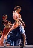 najlepszy tana dramata flamenco Obraz Royalty Free