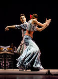 najlepszy tana dramata flamenco Zdjęcie Royalty Free