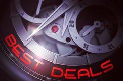 Najlepszy transakcje na rocznika Kieszeniowego zegarka mechanizmu 3d Obraz Royalty Free