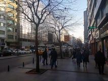Najlepszy ulica Istanbuł Halaskargazi Sisli fotografia royalty free