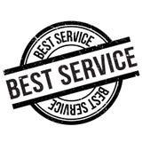 Najlepszy usługa znaczek Obrazy Stock