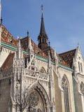 Najlepszy widok na kasztelu w Budapest Zdjęcia Stock