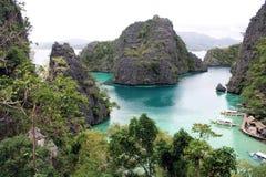 Najlepszy widok w Coron archipelagu Obrazy Stock