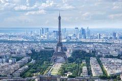 Najlepszy widok wieża eifla Obraz Royalty Free