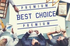 Najlepszy Wyborowej sprzedawca nagrody świadectwa grafiki Świetny pojęcie Fotografia Royalty Free
