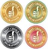 najlepszy wyborowy kciuk Obrazy Royalty Free