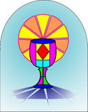 najpierw comunion święty ilustracji