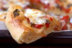 najpierw pizzę gotowa obraz stock