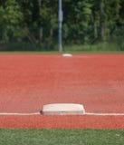 najpierw podstawowy baseball Zdjęcia Royalty Free