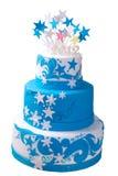 najpierw tort urodzinowy Obraz Royalty Free