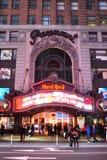 Najważniejszy Theatre, times square, Manhattan, NYC Zdjęcie Stock