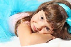 Najwięcej Ślicznego Uśmiechniętego dziewczyna portreta Obrazy Stock