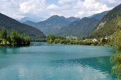 Najwięcej na Soci jeziora zdjęcie royalty free