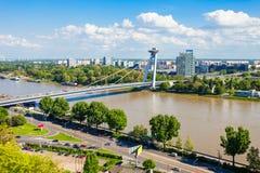 Najwięcej SNP mosta, Bratislava obrazy royalty free